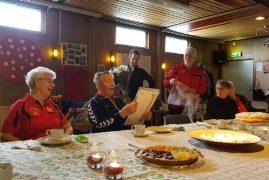 Oudste lid Kluis 90 jaar geworden