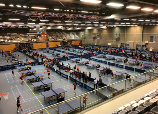 Ranglijst toernooi Tilburg