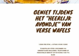 Verse wafels